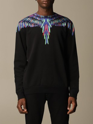 Marcelo Burlon County of Milan Sweatshirt With Printed Wings