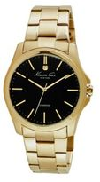 Kenneth Cole Diamond-Accent Goldtone Stainless Steel Bracelet Watch, 10027421