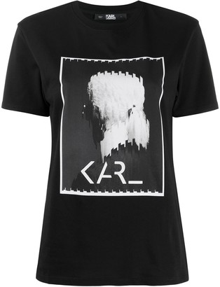 Karl Lagerfeld Paris Legend graphic print T-shirt