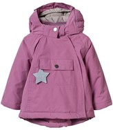 Mini A Ture Pink Wang Anorak with Pointed Hood