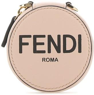 Fendi Logo Print Wristlet Coin Purse