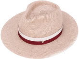 Maison Michel ribbon-trimmed hat