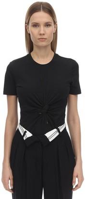 Alexander Wang Compact Jersey Bodysuit