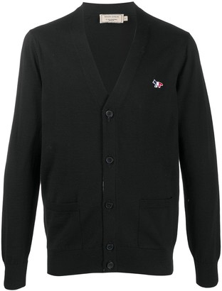MAISON KITSUNÉ Button-Up Wool Cardigan