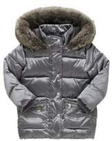 F&F Faux Fur Hooded Puffer Jacket