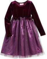 Good Lad Glitter-Skirt Dress, Toddler Girls (2T-5T)