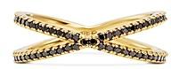 Michael Kors Custom Kors 14K Gold-Plated Sterling Silver Pave Nesting Ring Insert