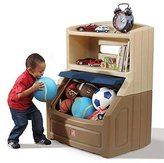 Step2 Lift and Hide Bookcase Storage Toy Box, Kids Toy Chest by