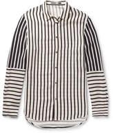 McQ Striped Satin Shirt