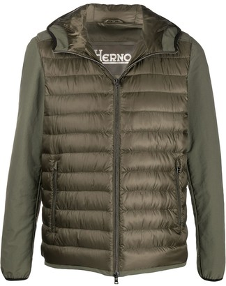 Herno Panelled Down Jacket