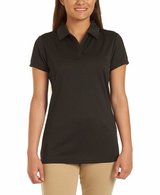 Chaps Womens Uniform Short Sleeve Performance Polo