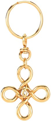 Chanel Pre Owned CC keychain