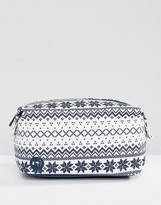 Mi-Pac Premium Make-Up Bag in Fairisle
