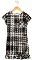 Helena Girls' Tweed Short Sleeve Dress