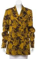 Dries Van Noten Jacquard Double-Breasted Jacket w/ Tags