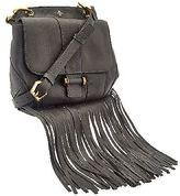 Oryany Italian Grain Leather Fringe Crossbody - Fannie