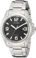 Citizen Men's Sport AW1430-86E Wrist Watches, Black Dial