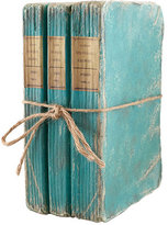 Wisteria Book Boxes - Turquoise Three-Stack