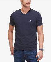 Nautica Men's Solid Slim Fit Stretch V-Neck T-Shirt