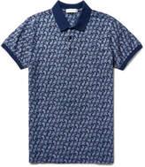 Etro - Slim-fit Paisley-print Cotton-piqué Polo Shirt