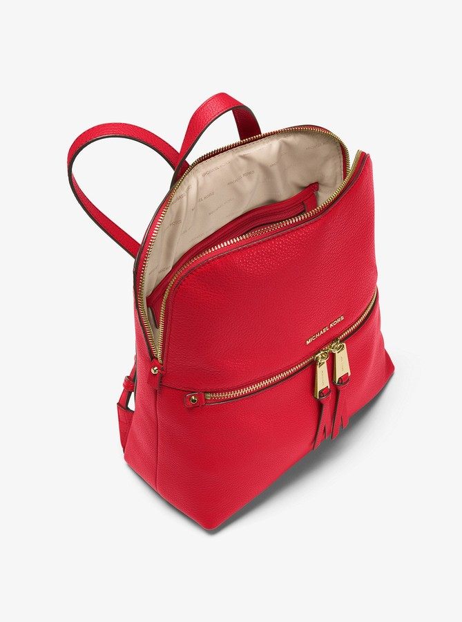 3fd6ca5e44fa MICHAEL Michael Kors Red Women's Backpacks - ShopStyle