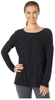 Beyond Yoga Moonrise Pullover (Darkest Night) Women's Clothing