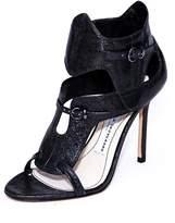 Camilla Skovgaard Metallic Gladiator Heels