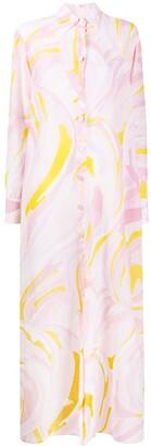 Emilio Pucci Printed Long Dress