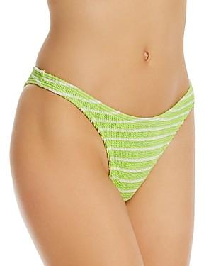Bondeye Bound by bond-eye Striped The Scene Bikini Bottoms