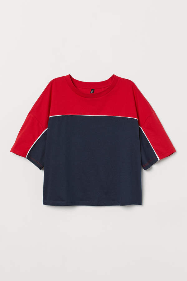 Boxy T-shirt - Blue