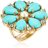 "Kate Spade Azure Allure"" Ring, Size 5"