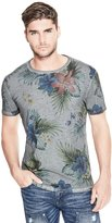 GUESS Palm Floral Print Tee