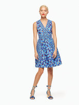 Kate Spade Tangier floral fit and flare dress