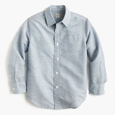 J.Crew Kids' linen-cotton shirt