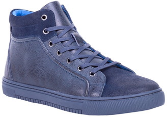 English Laundry James Leather & Suede High Top Sneaker