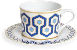 Jonathan Adler Newport Tea Cup and Saucer