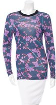 Carven Floral Print Long Sleeve T-Shirt w/ Tags