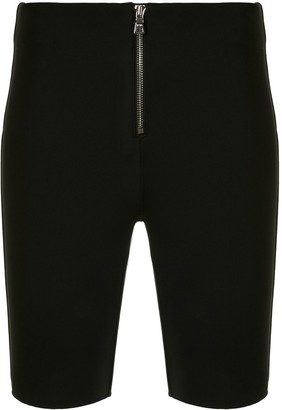 RtA Fitted High-Waist Shorts