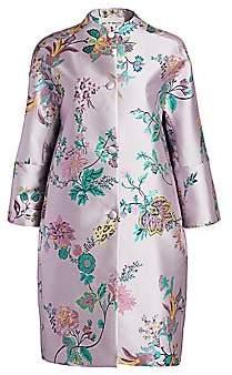 Etro Women's Floral Brocade Opera Coat