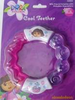 Nickelodeon Dora the Explorer Cool Teether BPA free & complies with Phthalate regulations 0-18 months