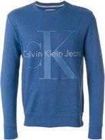 Calvin Klein Jeans logo sweatshirt - men - Cotton - S