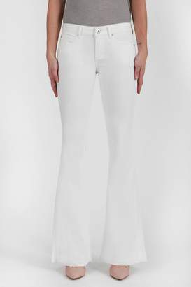 Articles of Society Faith Flare White Jeans