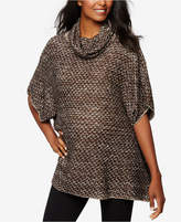 A Pea in the Pod Maternity Cowl-Neck Tweed Sweater