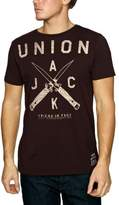 Crew Clothing Friend Or Faux Unionjacknife Printed Men's T-Shirt