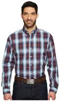 Stetson 1279 Plum Line Plaid Men's Clothing