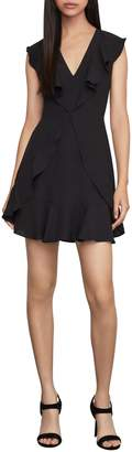 BCBGMAXAZRIA Tyrah Ruffled Mini Dress