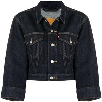 Levi's Cropped Denim Jacket