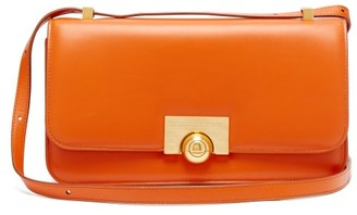 Bottega Veneta Classic Leather Shoulder Bag - Orange