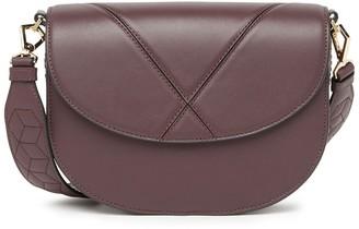 Excursion Leather Saddle Crossbody Bag