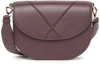 Welden Bags Excursion Leather Saddle Crossbody Bag